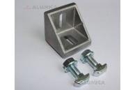 Угловой соединитель 40x40 (Уголок + соед. элементы)