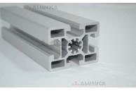 Алюминиевый конструкционный профиль сечением 45х60 анодированный