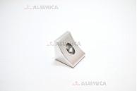 Угловой соединитель 40x40 анодированный