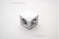 Кубический соединитель 2-х контактный 30 серии