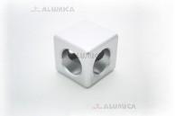Кубический соединитель 2-х контактный 40 серии