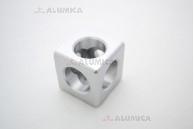 Кубический соединитель 3-х контактный 40 серии