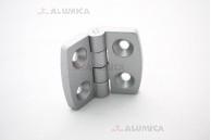 Дверная петля алюминиевая 20 с крепежом