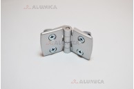 Дверная петля алюминиевая 45 c крепежом
