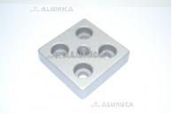 Пластина для крепления опоры 40х40 М10-6,5
