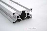 Алюминиевый конструкционный профиль сечением 30x60 анодированный