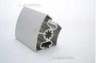 Алюминиевый конструкционный профиль сечением 45х45° анодированный