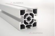 Алюминиевый конструкционный профиль сечением 60х60 усиленный без покрытия