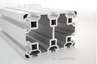 Алюминиевый конструкционный профиль сечением 80х120 анодированный