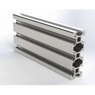 Алюминиевый конструкционный профиль сечением 20x60 без покрытия