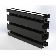 Алюминиевый конструкционный профиль 30x90 анодированный черный