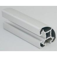Алюминиевый конструкционный профиль 40х40R анодированный