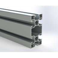 Алюминиевый конструкционный профиль 40х80L анодированный