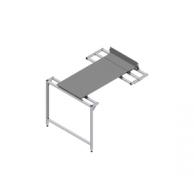 Стол для нарезки заготовок с двумя подвижными панелями