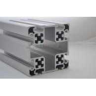 Алюминиевый конструкционный профиль сечением 100х100 анодированный