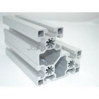 Алюминиевый конструкционный профиль сечением 45х90х90 анодированный