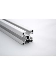 Алюминиевый конструкционный профиль сечением 30x30 без покрытия