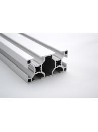 Алюминиевый конструкционный профиль сечением 30x60 без покрытия