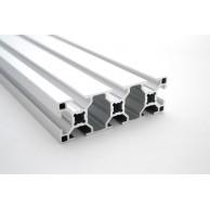 Алюминиевый конструкционный профиль сечением 30x90 анодированный