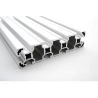 Алюминиевый конструкционный профиль сечением 40x160 анодированный