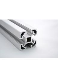 Алюминиевый конструкционный профиль сечением 40х40 без покрытия