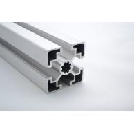 Алюминиевый конструкционный профиль сечением 45х45 анодированный