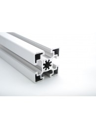 Алюминиевый конструкционный профиль сечением 45х45 усиленный без покрытия