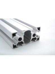 Алюминиевый конструкционный профиль сечением 45х90 без покрытия