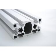 Алюминиевый конструкционный профиль сечением 45х90 усиленный анодированный