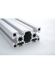 Алюминиевый конструкционный профиль 45х90 усиленный без покрытия