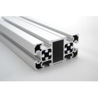 Алюминиевый конструкционный профиль сечением 50х100 анодированный