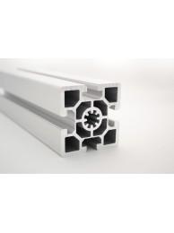 Алюминиевый конструкционный профиль 60х60 усиленный анодированный