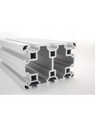 Алюминиевый конструкционный профиль 80х120 без покрытия