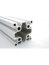 Алюминиевый конструкционный профиль 90х90 анодированный