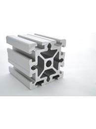 Алюминиевый конструкционный профиль 90х90 усиленный анодированный
