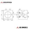 Кубический соединитель 3-х контактный 20 серии с крепежом