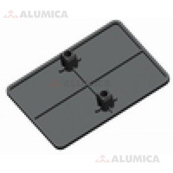 Заглушка углового соединителя 90x90 тип 2
