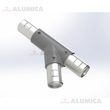 Y-коннектор 45° правый