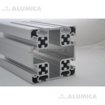 Алюминиевый конструкционный профиль сечением 100х100 без покрытия