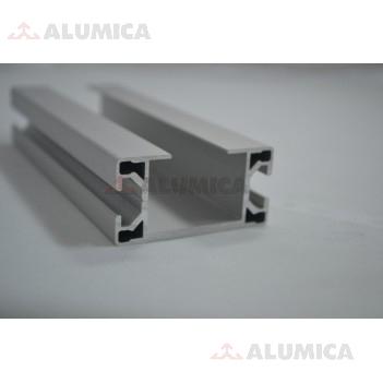 Алюминиевый конструкционный профиль сечением 30x60 тип 2 анодированный