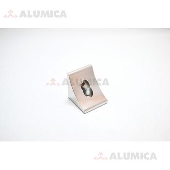 Угловой соединитель 45x45 анодированный