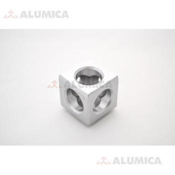 Кубический соединитель 3-х контактный 30 серии