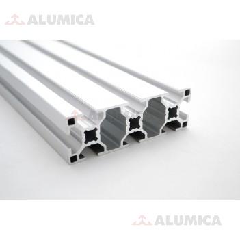 Алюминиевый конструкционный профиль 30x90 анодированный