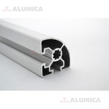 Алюминиевый конструкционный профиль 45х45R без покрытия