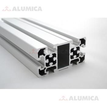 Алюминиевый конструкционный профиль 50х100 анодированный