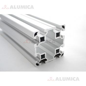 Алюминиевый конструкционный профиль 80х80  без покрытия