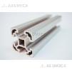 Алюминиевый конструкционный профиль 40х40 анодированный