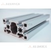 Алюминиевый конструкционный профиль 45х90 анодированный