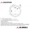 Алюминиевый трубный профиль D28 L анодированный