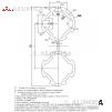 Алюминиевый трубный профиль D28 двойной анодированный